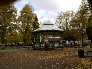 Autumn at the bandstand